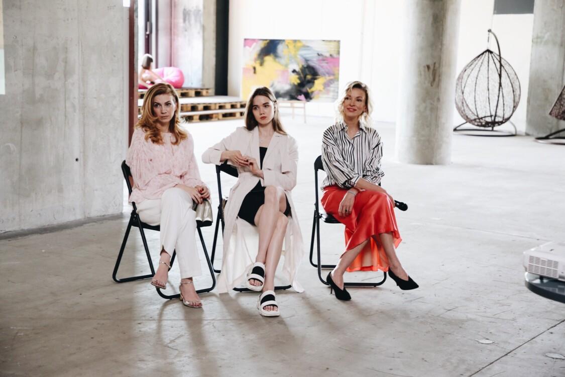 Ярослава Заря, Маша Тимошенко и Полина Неня