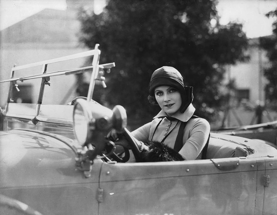 Грета Гарбо, грудень 1925