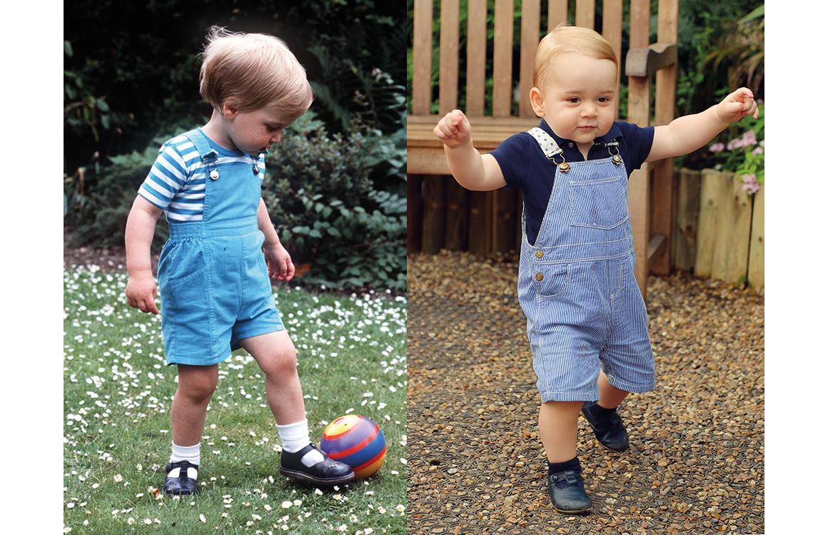 Принц Уильям 1984 / принц Джордж 2014