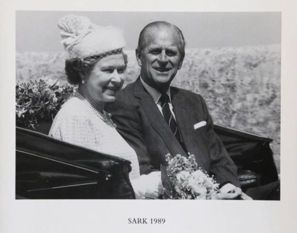 Рождественская открытка королевы Елизавета II и принца Филиппа, 1989