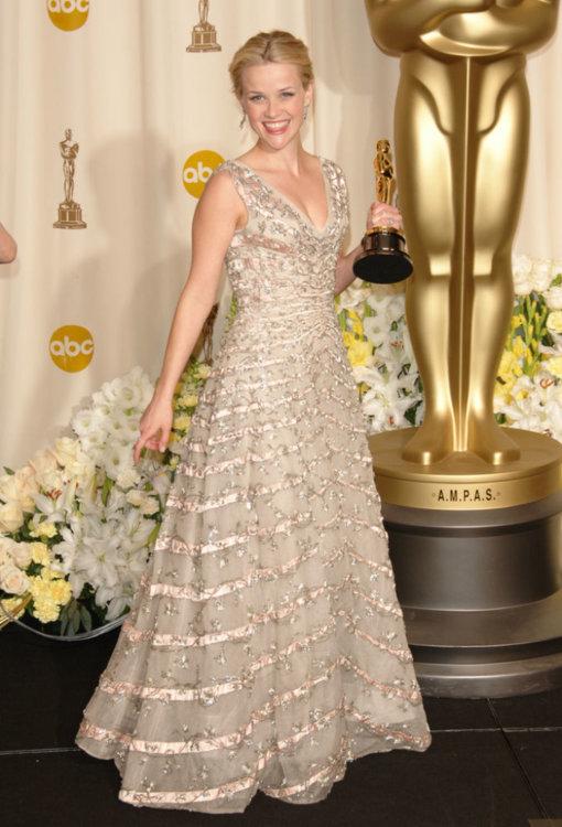 2006 год: Риз Уизерспун в платье Dior