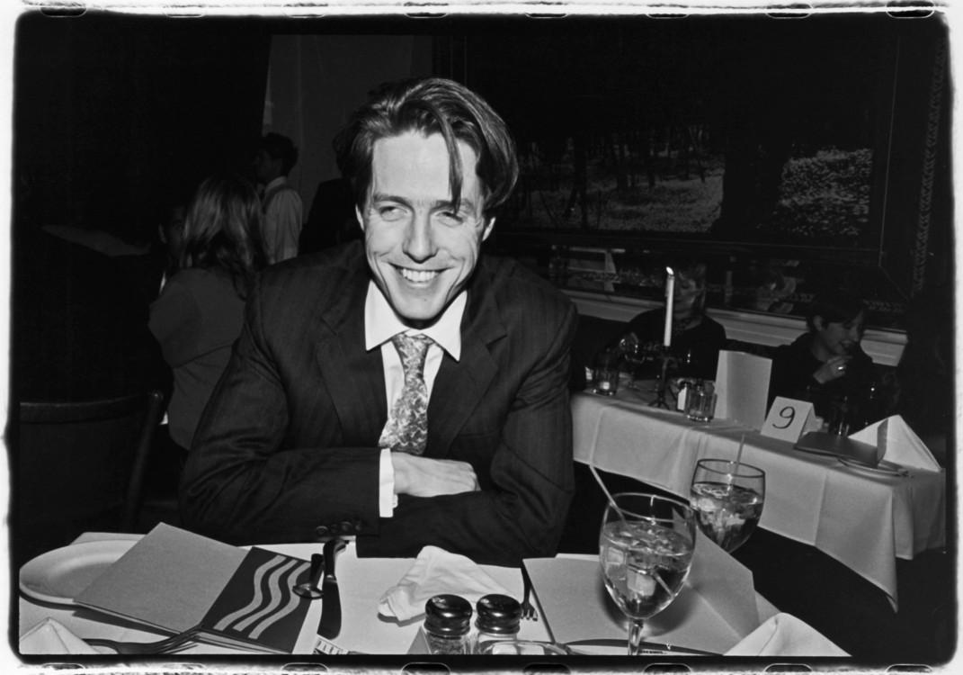 Хью Грант на вечеринке его фильма «Сирены»в Нью-Йорке, 1994