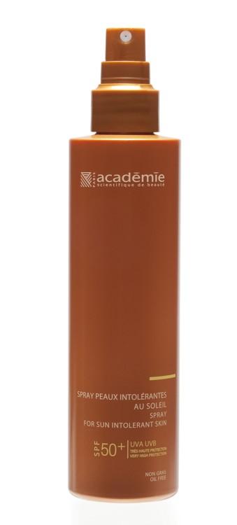 Сонцезахисний спрей для чутливої шкіри SPF 50 Bronzécran, Académie