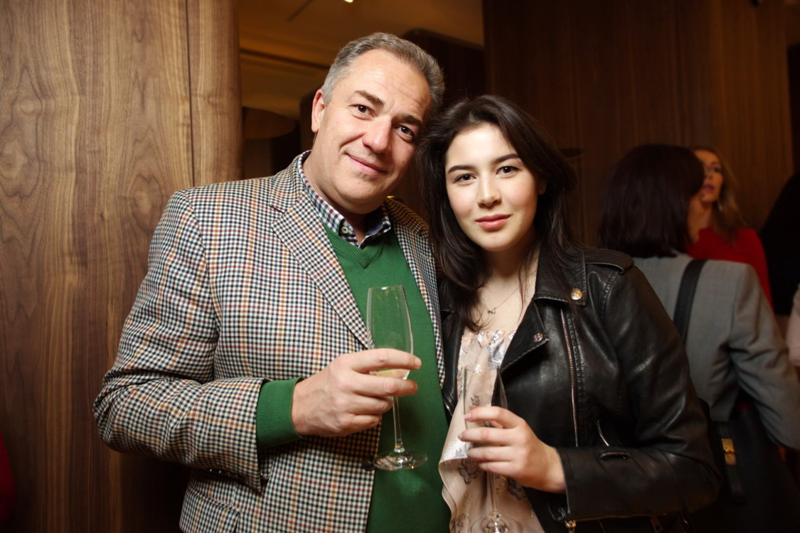 Березницкий Виталий с дочерью Галиной