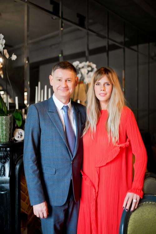 Сириль Виньерон и Мария Дидковская