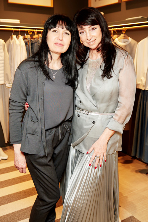 Жанна Альперович (справа)