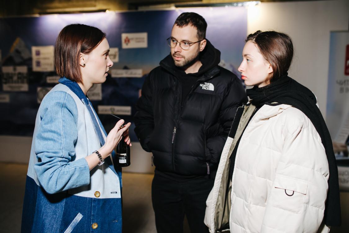 Ольга Сушко, Евгений Волков и Кристина Подобед