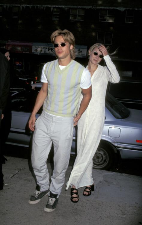 Брэд Питт и Гвинет Пэлтроу, 1996