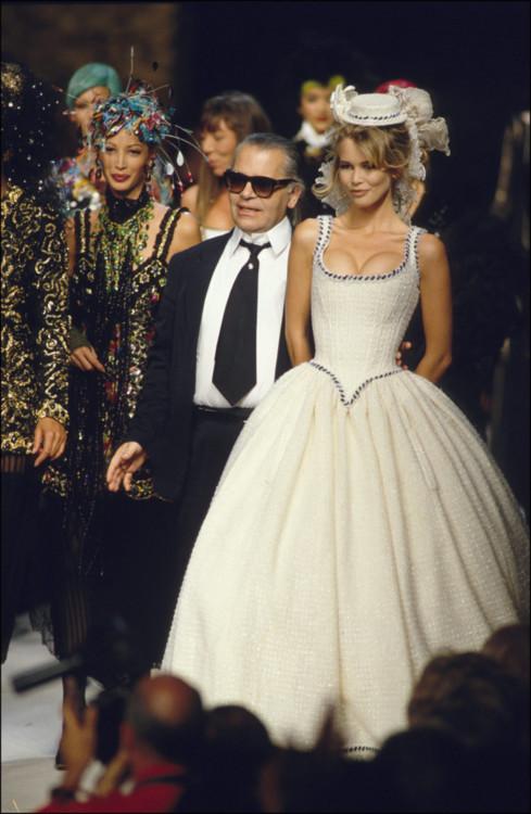 Chanel осень-зима 1995/1996