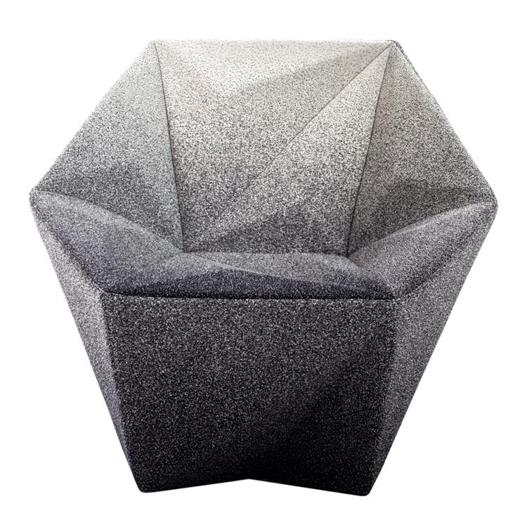 Кресло Gemma для Moroso, созданное Daniel Libeskind
