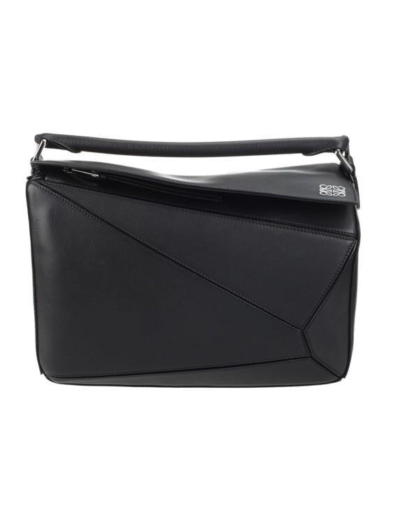 Кожаная сумка Loewe