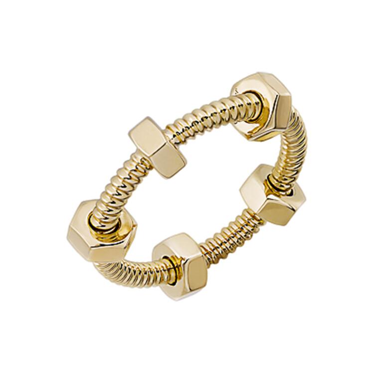 Перстень Écrou de Cartier, жовте золото