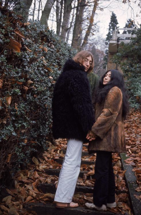 Джон Леннон і Йоко Оно, 1968 рік