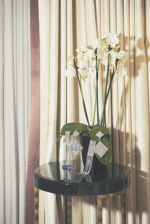 Серьги, латунь, кристаллы, Alessandra Rich; серьги, латунь, кристаллы, Isabel Marant