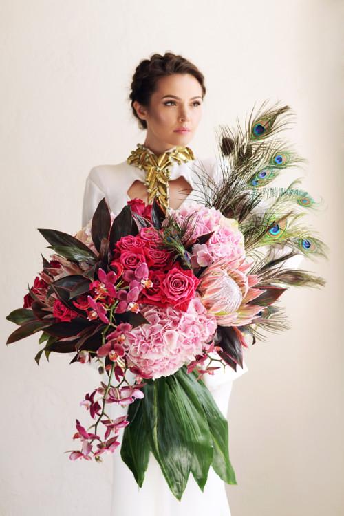 """Літня колекція букетів """"Гера"""", квіткова майстерня LoraShen"""