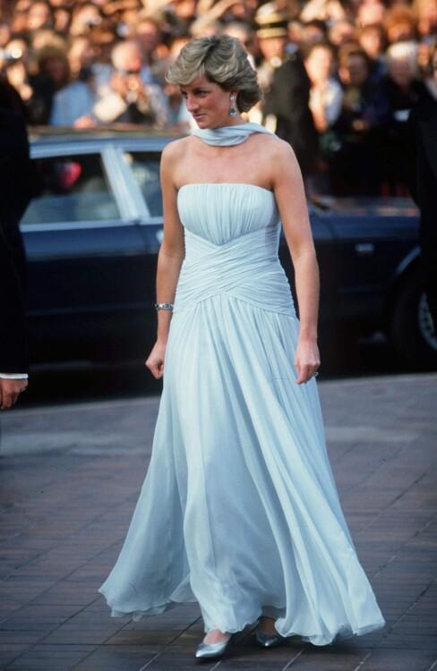 Принцесса Диана, 1987