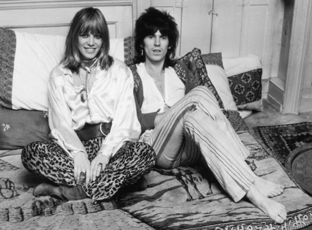 Кит Ричардс и Анита Палленберг, декабрь 1969