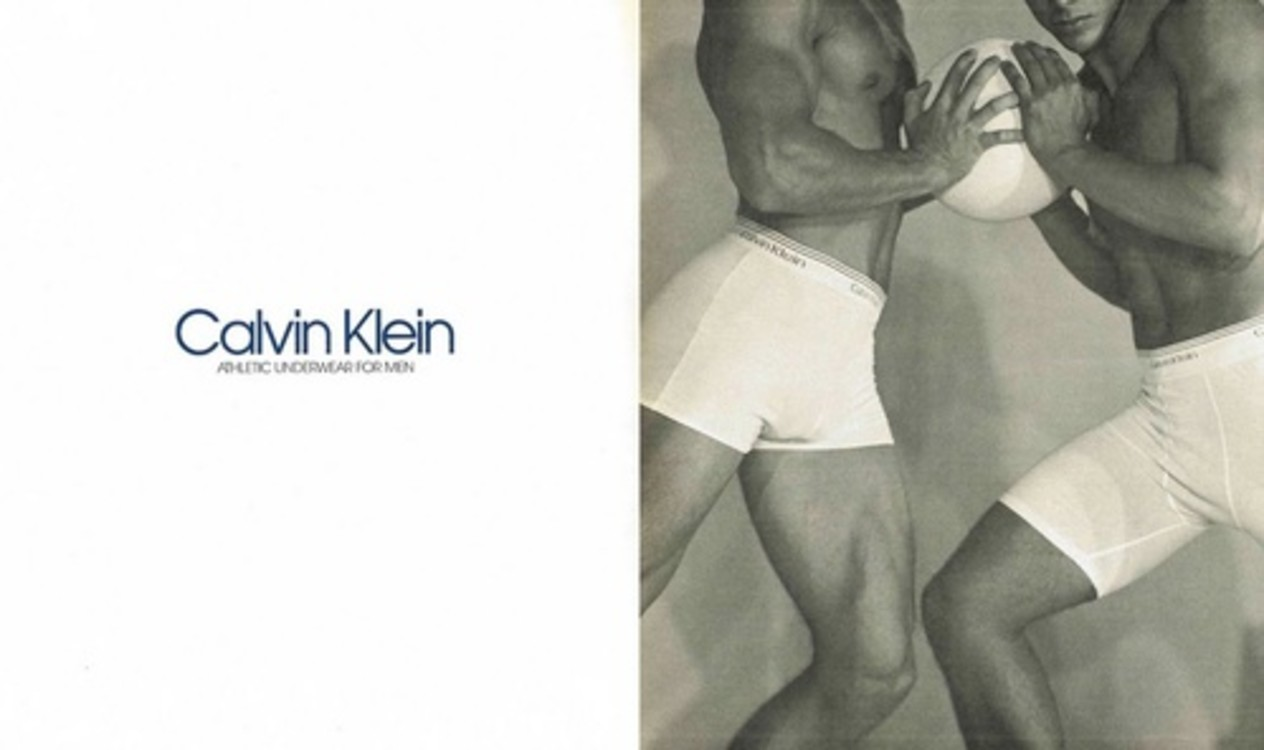 Calvin Klein Underwear весна-лето 1991