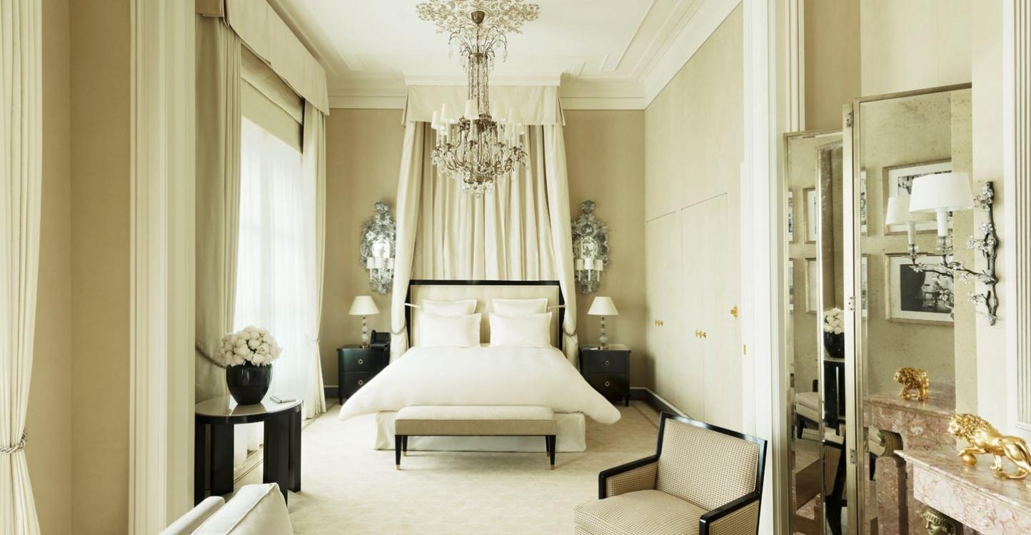 Сьют Coco Chanel в отеле Ritz