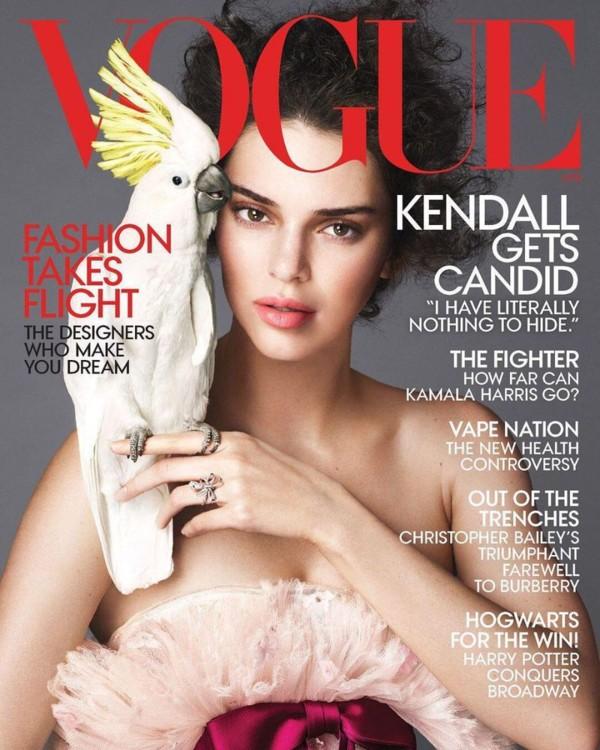 Vogue US, апрель 2018