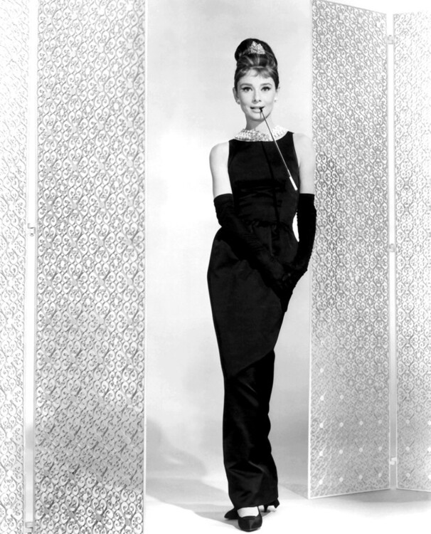 Одрі Гепберн у сукні Givenchy у фільмі «Сніданок у Тіффані», 1961