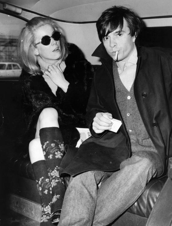 Катрин Денев и Дэвид Бейли в Лондоне, март 1966