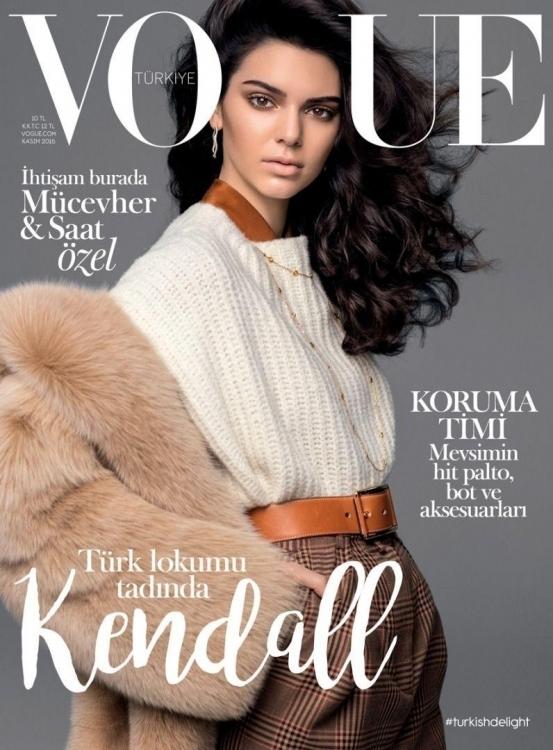 Vogue Turkey, ноябрь 2016