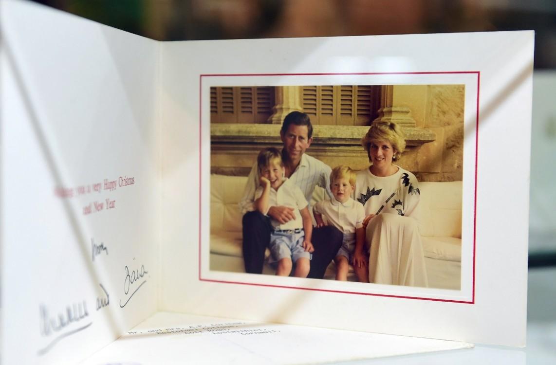 Принц Чарльз и принцесса Диана с сыновьями Уильямом и Гарри, 1987