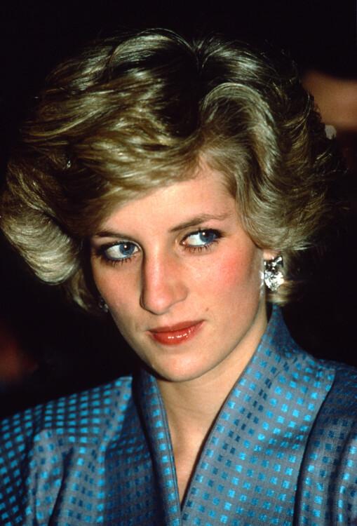 1985, во время визита в Милан