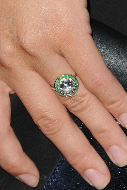 Обручальное кольцо Оливии Уайлд