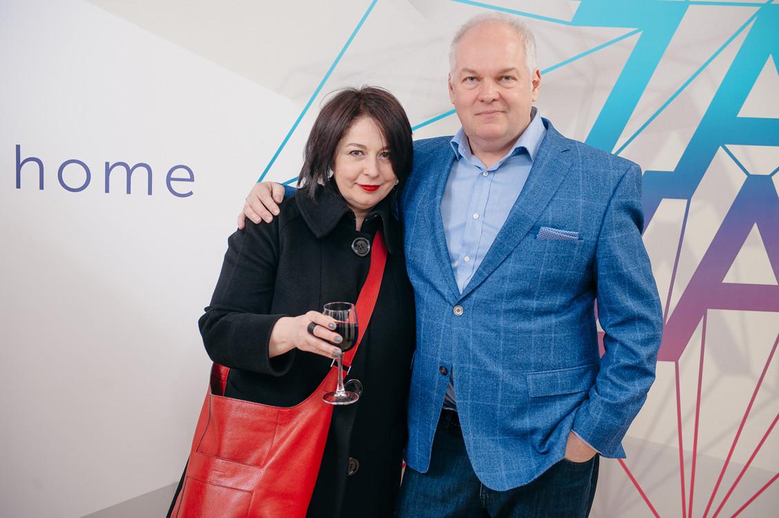 Галина Никулина и Андрей Супруненко