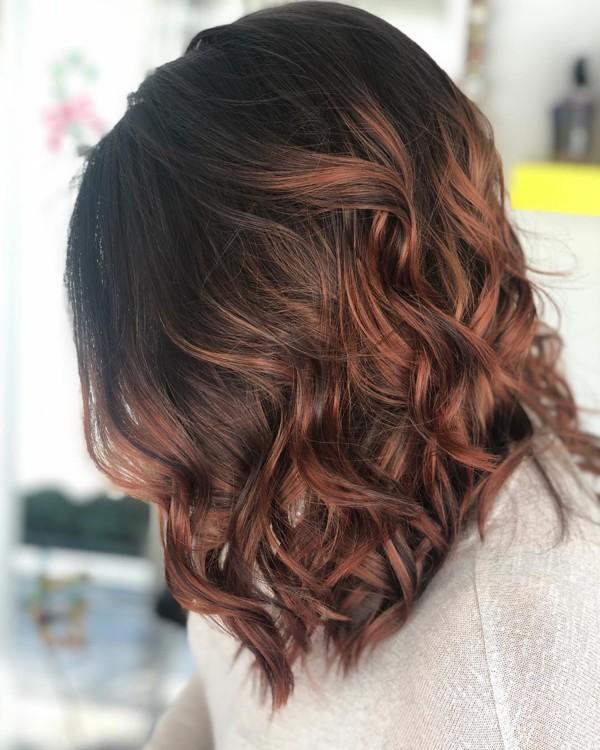 Самые модные окрашивания для русых волос 2019 в 2019 году