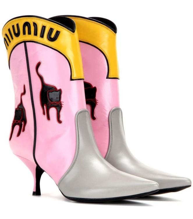 Ботинки Miu Miu, 2016 год