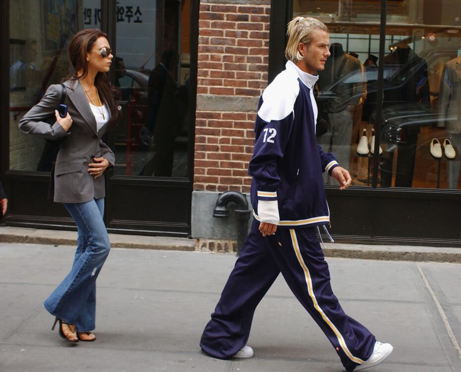 Дэвид и Виктория Бекхэмы в Нью-Йорке