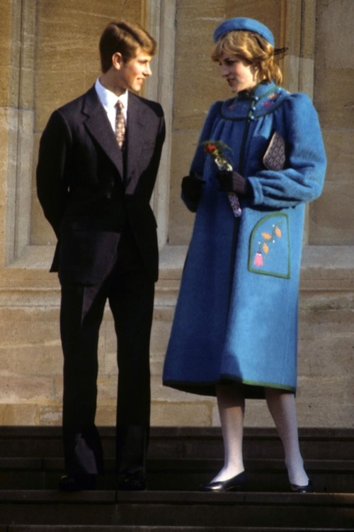Принц Чарльз і принцеса Діана, 25 грудня 1981 р.
