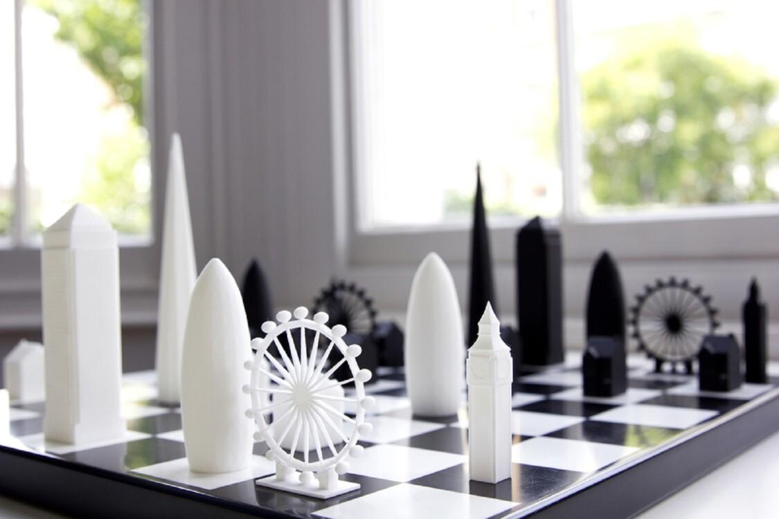 Шахматы Skyline Chess