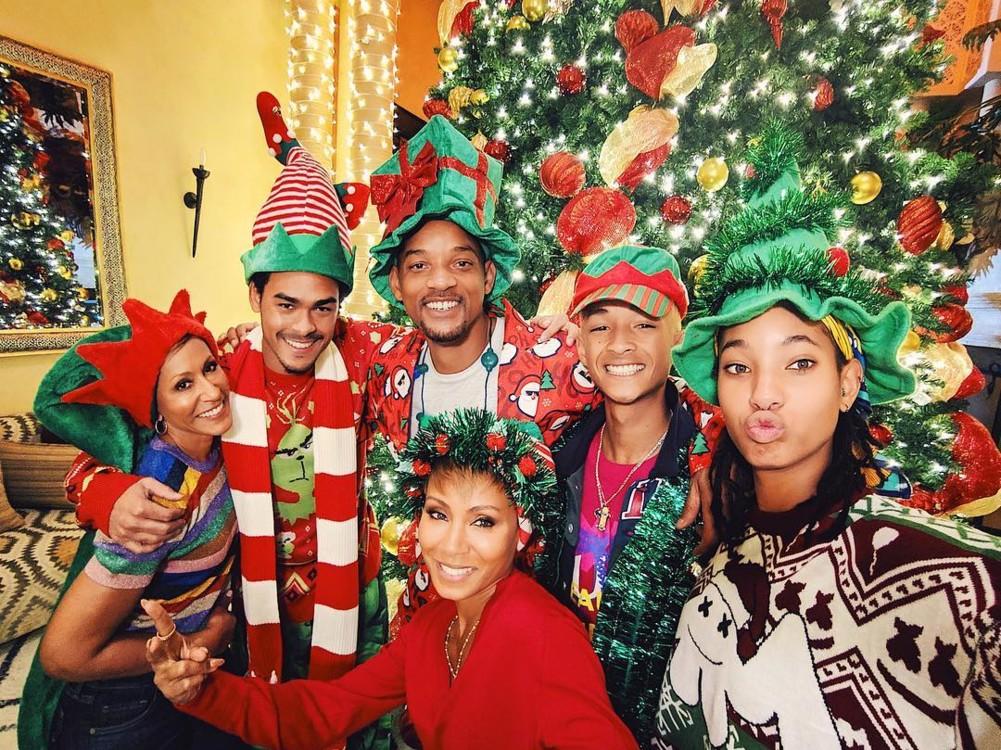 Вілл Сміт зі своєю сім'єю