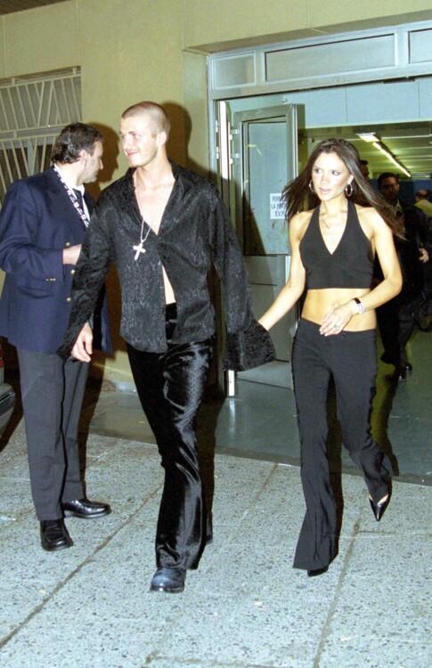 Дэвид и Виктория Бекхэмы, 2001