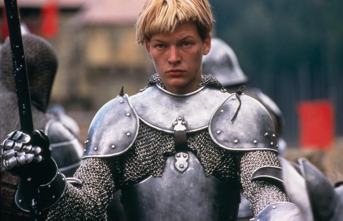 Кадр з фільму «Жанна д'Арк», 1999