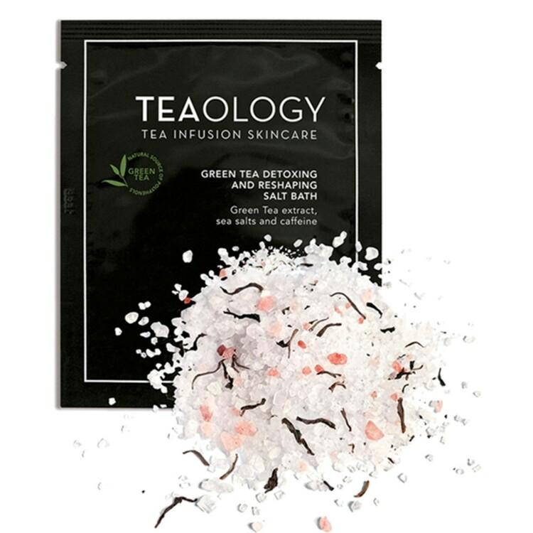 Соль для ванны с зеленым чаем Teaology