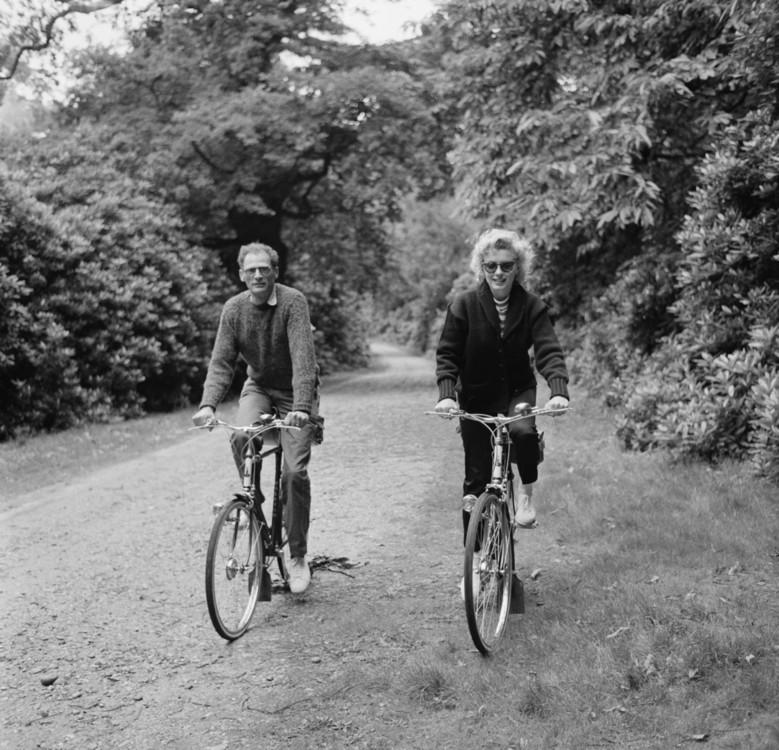 Артур Миллер и Мэрилин Монро, 1956 год