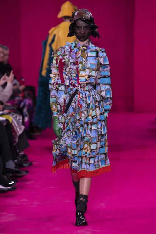 Євгенія Дубінова на шоу Maison Margiela Couture весна-літо 2020