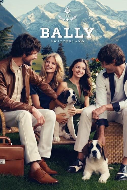 Рекламная кампания Bally