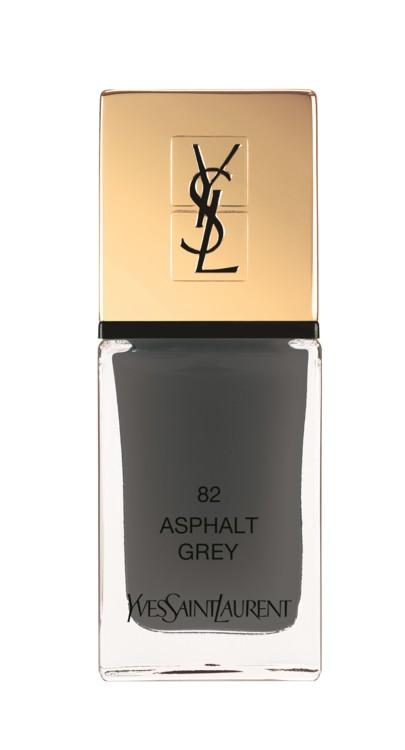 La Laque Couture 82 Asphalt Grey, YSL Beauté
