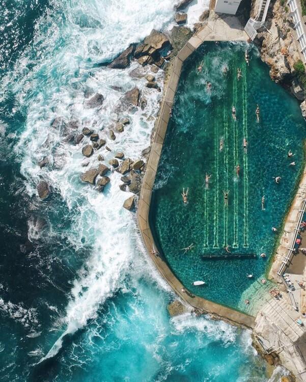 Bronte Pools, Сідней, Австралія