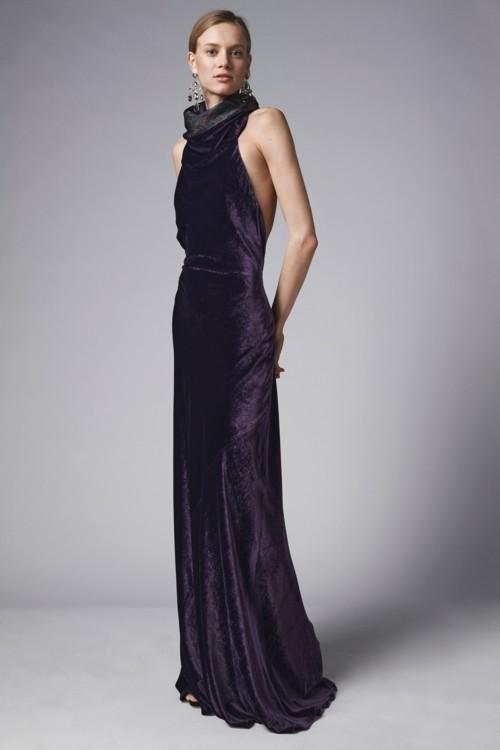 В чем встретить Новый год: платья из бархата фото