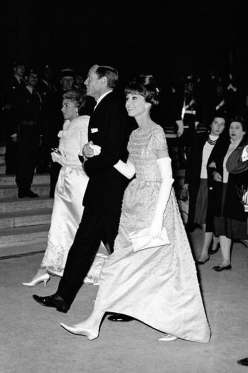 Мел Феррер и Одри Хепберн, 1960
