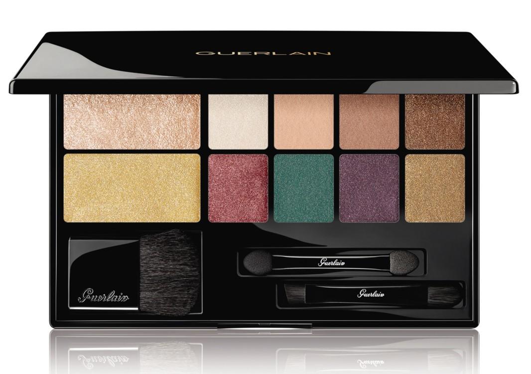 Набор для макияжа Electric Look Palette, рождественская коллекция макияжа Guerlain 2018 Cosmic Beauty