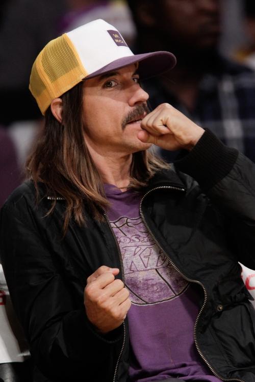 "На баскетбольном матче ""Phoenix Suns – Los Angeles Lakers"" в 2010 году"