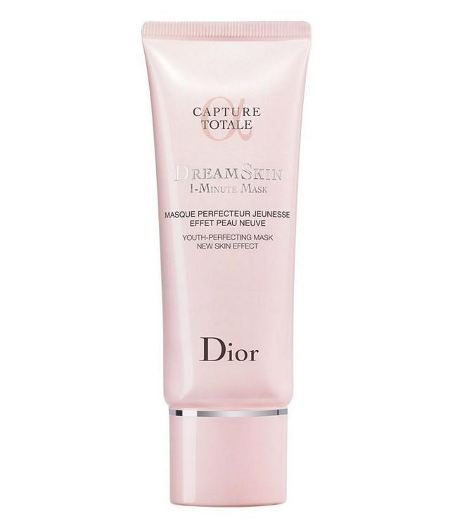 1-хвилинна маска Dreamskin Capture Totale, Dior, з саліциловою (BHA), гліколевою і лимонною (AHA), квітковими кислотами
